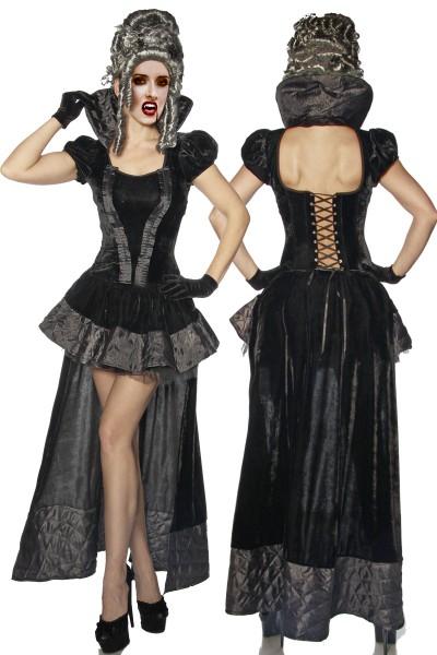 VAMPIR Kostüm teuflisch gut Geist Halloween Fasching Mottoparty Gothic Vampire Karneval