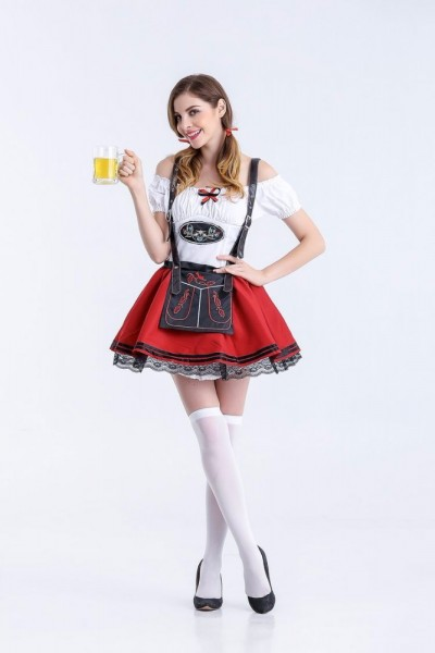 sexy Dirndl, Mini-Dirndl, Dirndl-Kleid, 3-teilig - Sonderpreis