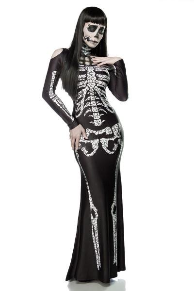 Skelettkostüm Skeleton Damen