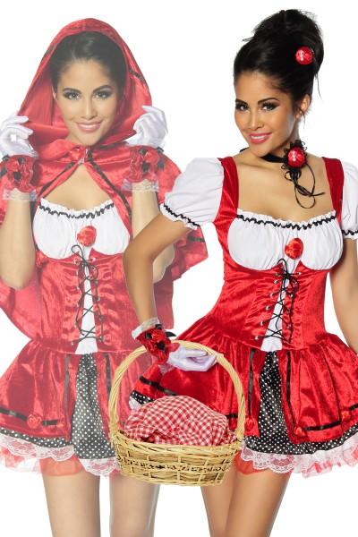 Rotkäppchen Kostüm Damen Karneval 2020